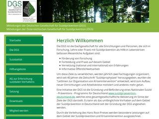 Deutsche Gesellschaft für Suizidprävention (DGS)