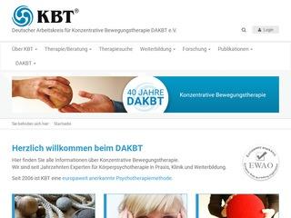 Deutscher Arbeitskreis für Konzentrative Bewegungstherapie e.V.